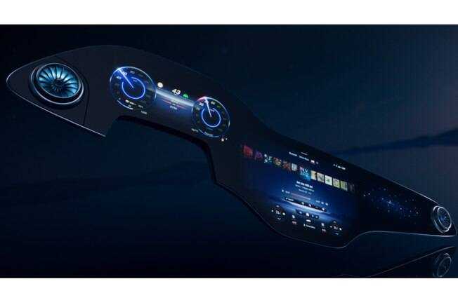MBUX Hyperscreen aprende comportamento do motorista para melhorar a experiência ao volante