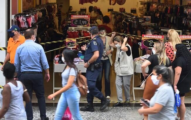 Comércio de Campinas teve aumento de vendas em outubro.