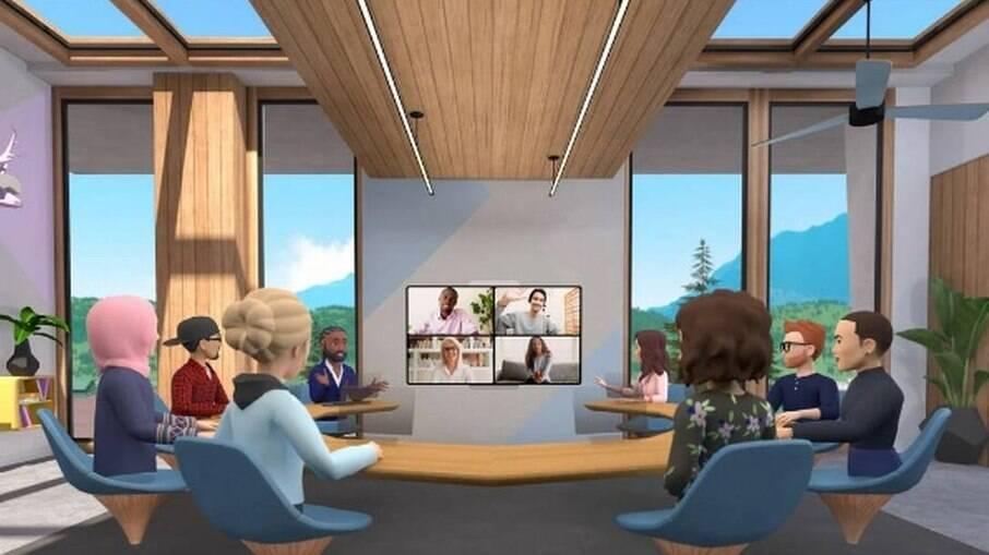 Facebook libera reuniões com avatares
