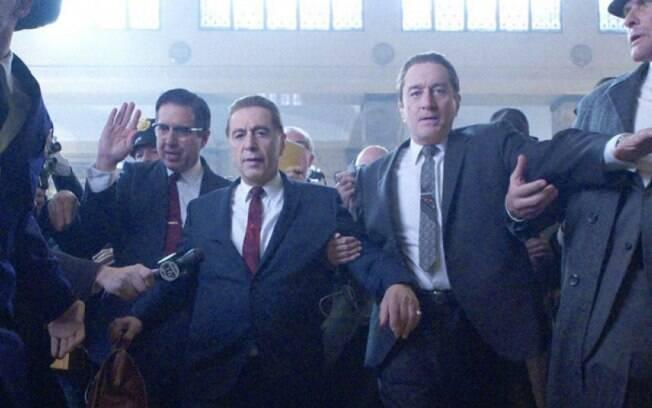 Cena do filme O Irlandês