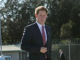 Príncipe Harry vai prestigiar o jogo da Inglaterra, no Mineirão