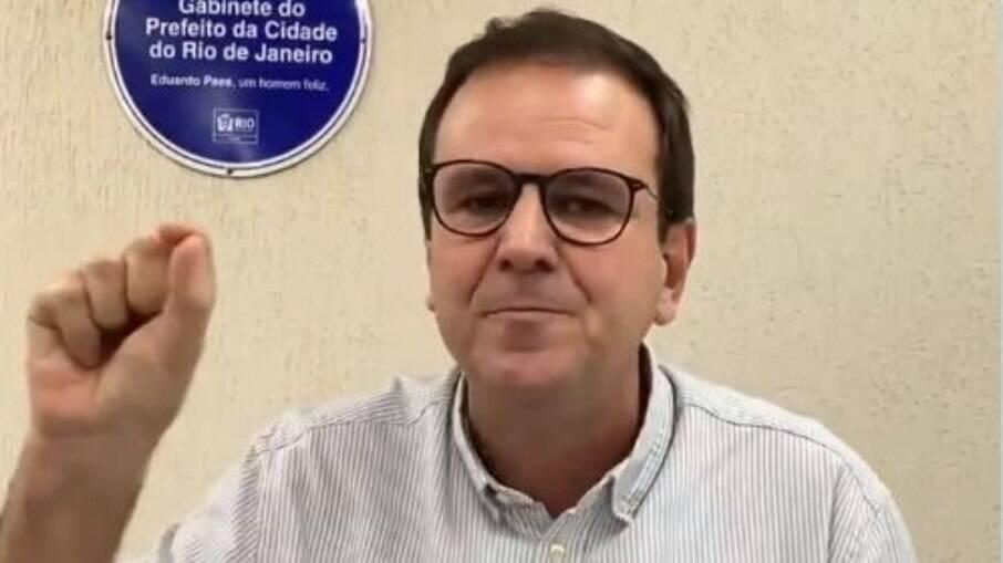 Prefeito do Rio, Eduardo Paes (DEM)