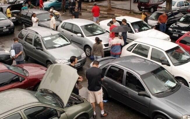 Vendas de carros usados: Dezembro de 2017