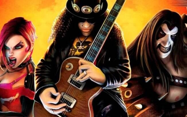 Veja jogos com temática de rock