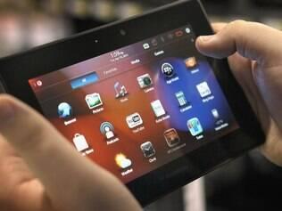 Playbook: sem aplicativo de e-mail, tablet até agora tem vendas fracas