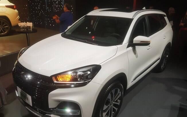 Caoa Chery mostra o Tiggo 8 no Salão do Automóvel 2018. Será o maior SUV da marca fabricado no Brasil