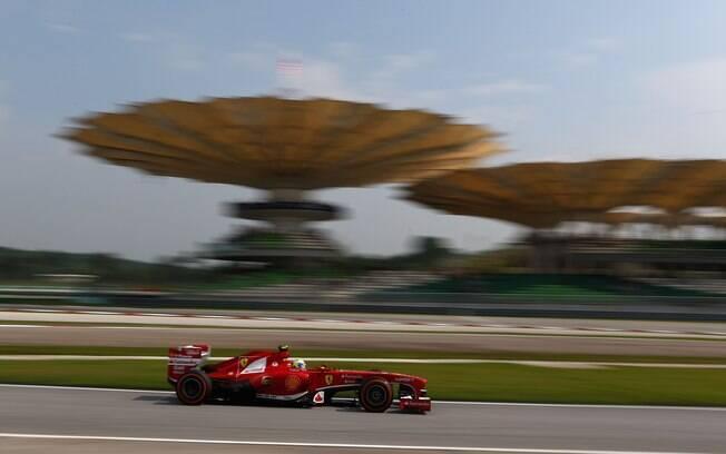 Felipe Massa teve tempo de 1min50s587 na  última etapa do treino classificatório