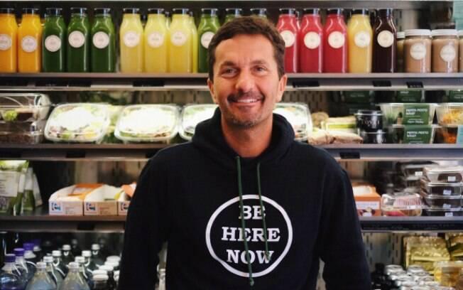 Khalil Rafati é o proprietário da Sunlife Organics, empresa de sucos exóticos dos Estados Unidos