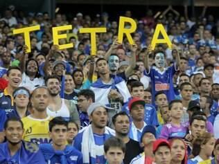 Torcedores não querem saber de matemática e 'profetizam' quarto título brasileiro do Cruzeiro