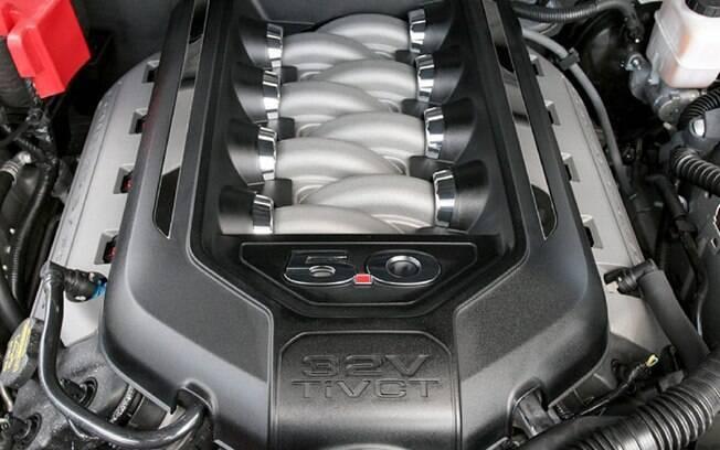 Entre os equipamentos de carros, motores grandes serão exclusividade de carros de nicho