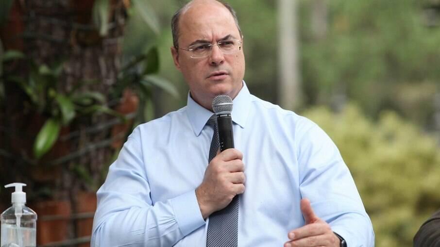 Governador destituído do Rio de Janeiro Wilson Witzel