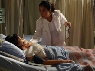 Enfermeira: queima de arquivo?