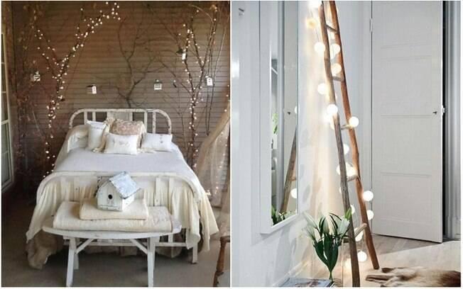 As luzes de Natal (ou pisca-piscas) podem, sim, ser usadas na decoração fora da época de festas