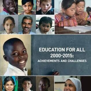 Relatório Educação para Todos 2000-2015 será apresentado pela Unesco nesta quinta-feira (9)