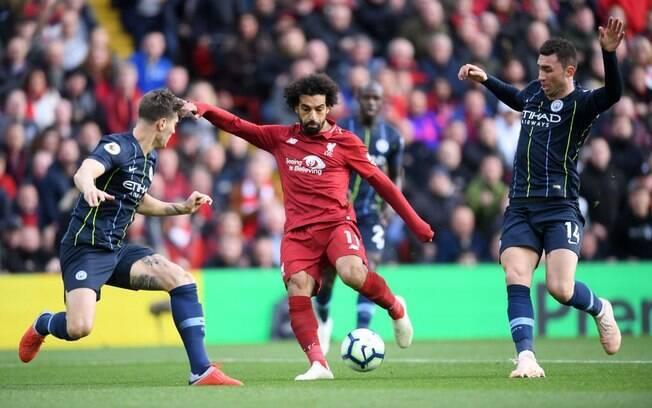 Na partida do primeiro turno, Liverpool e Manchester City ficaram no 0 a 0 em Anfield