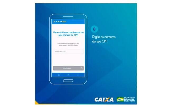 Veja o tutorial oficial do aplicativo da Caixa para abrir Poupança e receber o auxílio emergencial