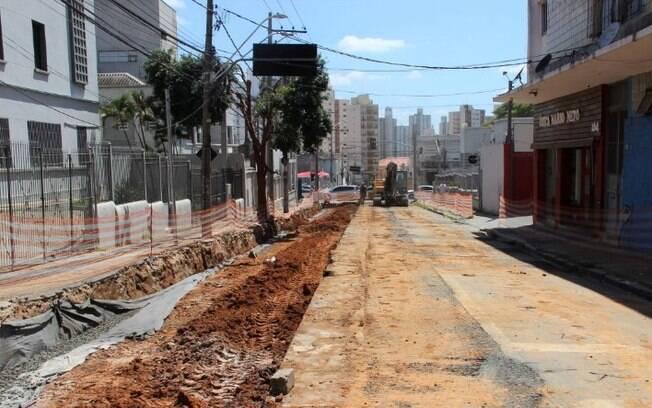 Trechos da Rua Barão de Parnaíba serão bloqueados a partir de hoje