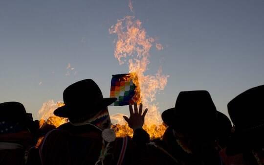 Bolivianos celebram o ano novo andino - Mundo - iG
