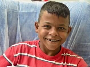 Diego participou do projeto pedagógico e escreveu uma carta ao Papai Noel contando como foi seu último ano