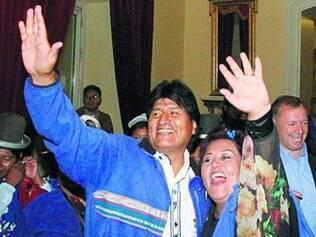 Anti-imperialistas. Morales dedicou vitória a Fidel Castro e Chávez