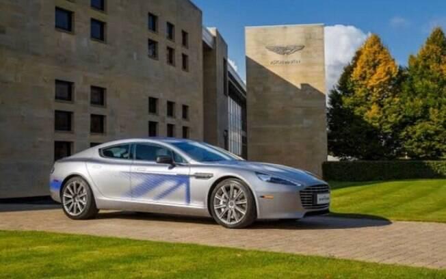 O Aston Martin Rapide E terá uma produção limitada em 155 unidades que serão vendidas após a estreia do filme em abril de 2020