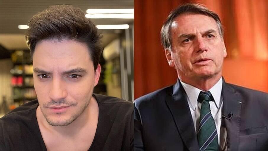 Felipe Neto chama Bolsonaro de
