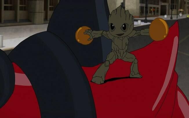 na terceira temporada da animação de