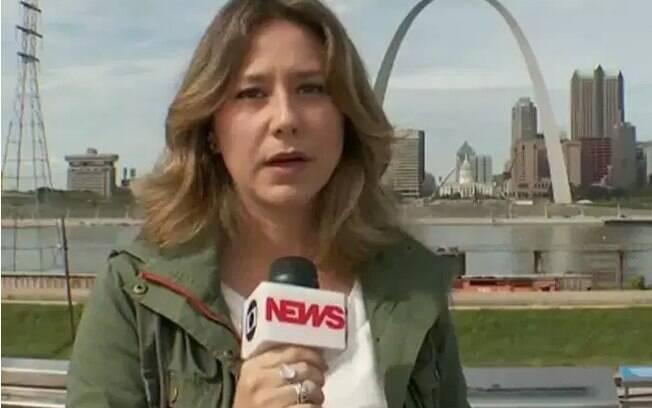 Repórter passa vergonha ao vivo