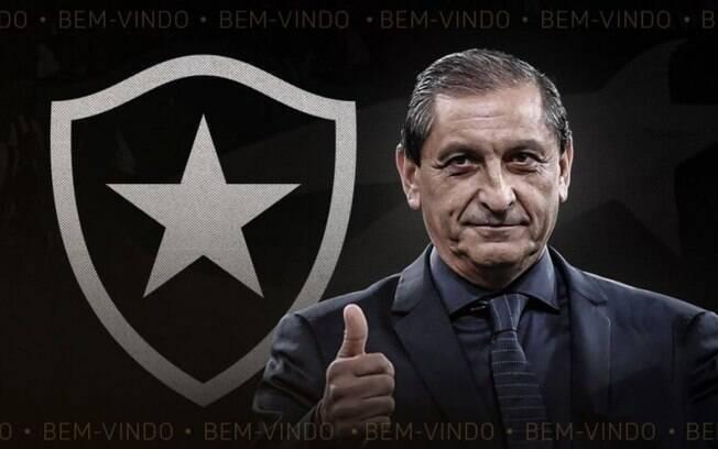 Ramón Díaz deixa o Botafogo antes mesmo de estrear