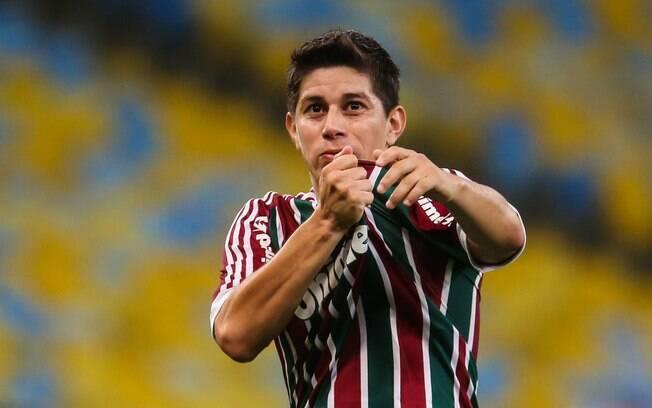 Conca, no Fluminense