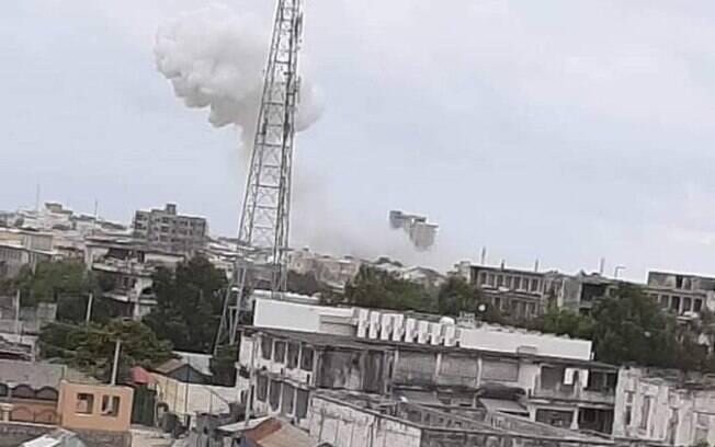 Explosão do carro-bomba foi vista de longe