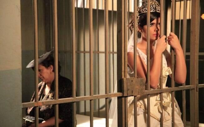 Salomé vacilou e colocou a filha na cadeia