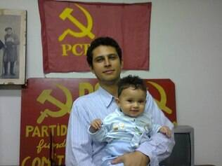 Antigo militante do movimento estudantil, Túlio Lopes foi eleito para o Conselho Geral do Sind-UTE em 2012