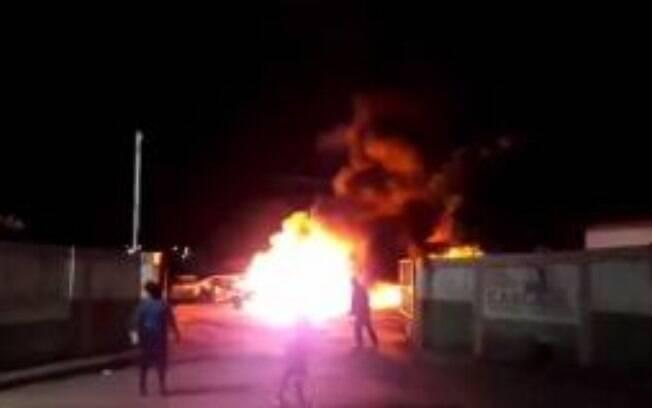 Ceará vira palco de ataques criminosos na noite deste sábado (24) e madrugada de domingo (25)