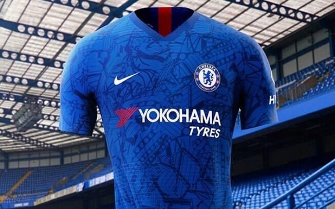 Chelsea anuncia seu novo uniforme com homenagens ao Stamford Bridge