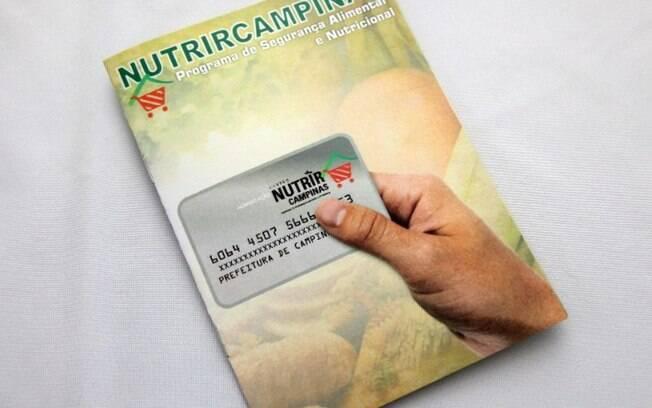 Campinas divulga cronograma de troca do Cartão Nutrir