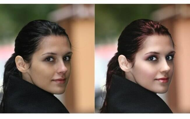 O antes e depois após os passos do tutorial