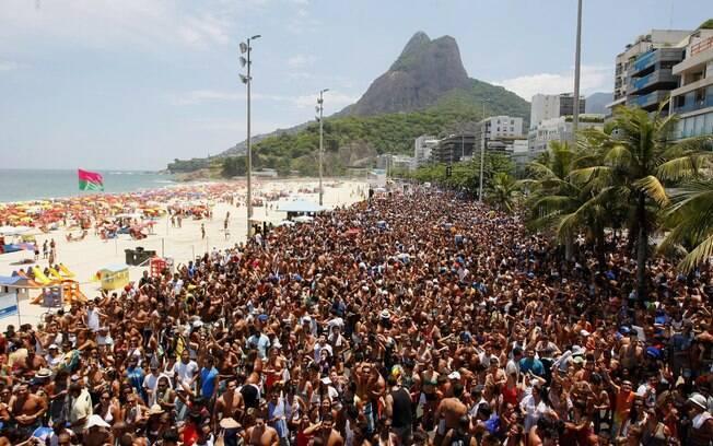 Blocos de carnaval agitam o final de semana