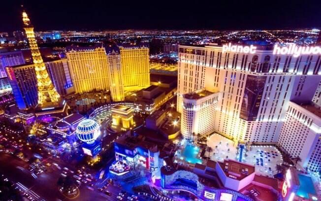 Las Vegas, nos Estados Unidos, é uma cidade cheia de agito, com os hotéis assumindo o papel de principais atrações locais