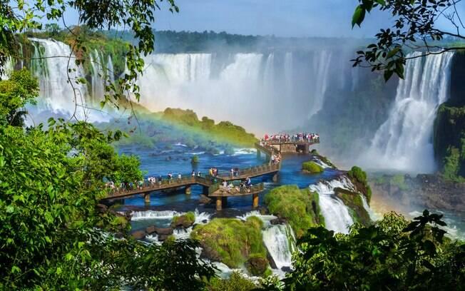 Aproveite as belezas naturais de Foz do Iguaçu