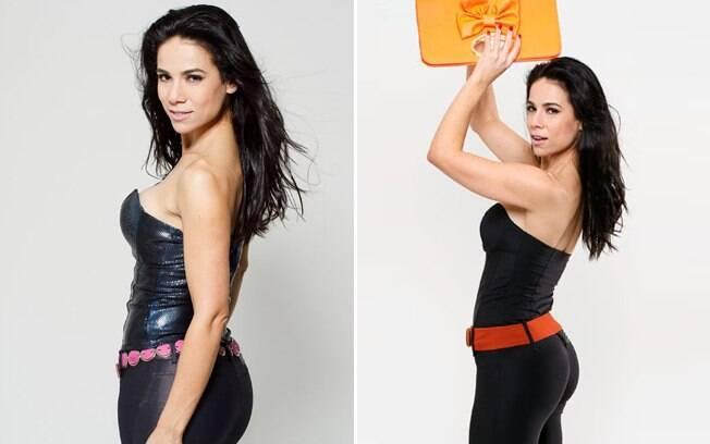 Adriana Ferrari sobre a carreira de apresentadora: