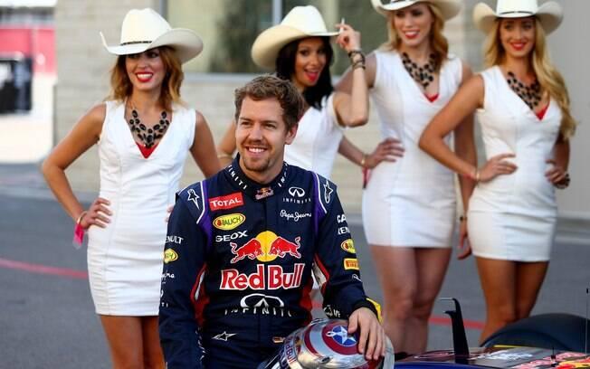 Sebastian Vettel foi alguns dos pilotos que lamentaram o fim das grid girls na Fórmula 1