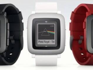 Pebble anunciou uma nova versão do seu produto