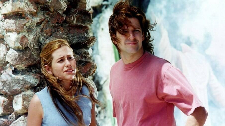 Antônio Mourão (Murilo Benício) e Rebeca Maciel Mourão (Alessandra Negrini) viviam um romance proibido em