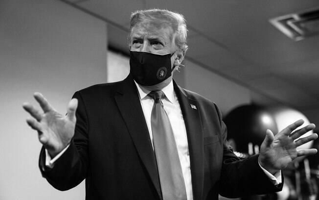 Presidente Donald Trump testou positivo para a Covid-19