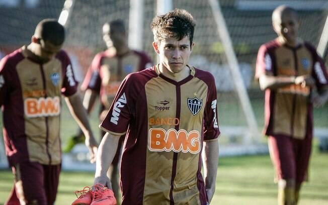 Bernard, do Atlético-MG,foi a revelação do  Brasileirão é o terceiro da lista e custa R$ 39,4  milhões