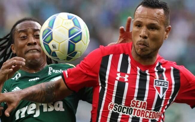 Arouca em ação pelo Palmeiras