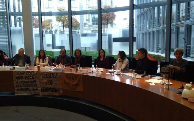 Grupo no Parlamento Alemão