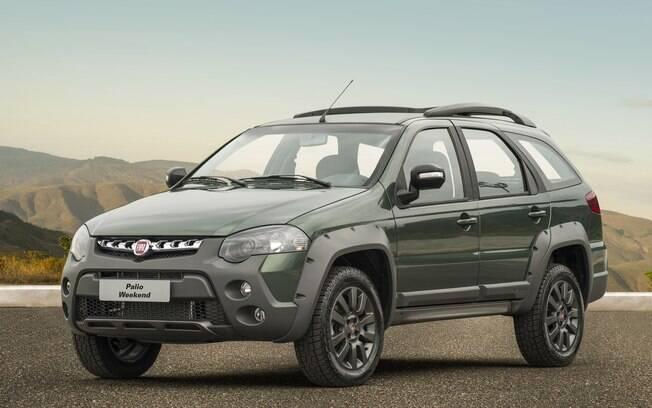 Mesmo com a idade avançada, a Fiat Weekend segue no topo entre as station wagons compactas