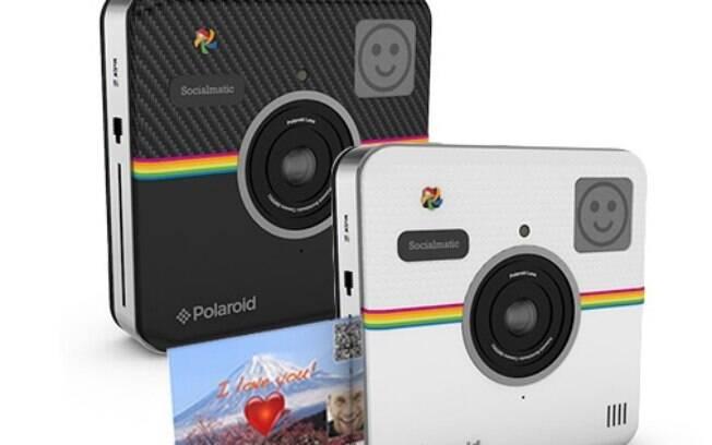 Polaroid Socialmatic será produzida e vendida ainda neste ano de 2014